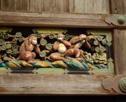 日光東照宮 猿 なぜ 三猿